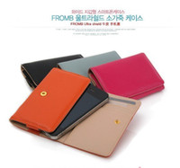 Wholesale Galaxy S2 i9000 S5830 Genuine Leather Wallet Book Case Cover Card Holder Free Shiping