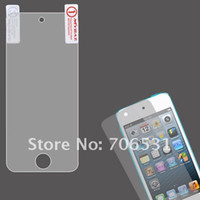 Wholesale 100Pcs With Retail Package Clear Screen Film For iPod Touch