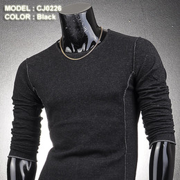 Wholesale Mens Crew Neck Slim Fit Casual Special Knitwear Sweaters Jumpers Tops XS S M L