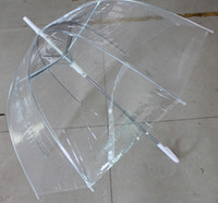 Wholesale clear bubble umbrellas transparent dome shape umbrellas gossip girl umbrellas