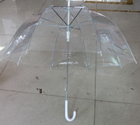auto open umbrellas - transparent bubble umbrella auto open customized logo print acceptable Free DHL