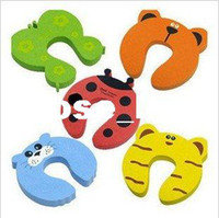 Wholesale Cartoon Baby Safety Door Stopper baby safety gate card Baby Safety products