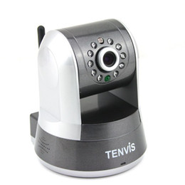 Tenvis IProbot3 Wireless Indoor IR WIFI IP Network Camera CCTV Nightvision White