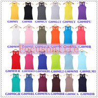 Wholesale 5pcs ABODY Women s Tank Stretch Sleeveless Camisole Racerback Singlet Vest Tops Waistcoat Col