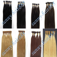 Wholesale Stick Tipped Remy Human Hair Extensions100S Length Colors Grade AAAA Beauty