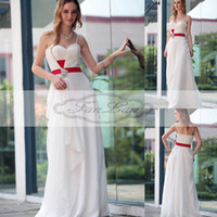 Wholesale Elegant White Chiffon Crystal Beaded Floor Length Party Gown Full Figure Evening Dresses