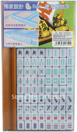 Wholesale Mini Mahjong Portable Majiang set Table game Mah jong Sports Entertainment play anywhere