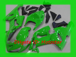 All Green ABS fairings kit for Kawasaki Ninja ZX-6R 2005 2006 ZX6R 636 05 06 ZX 6R ZX-6 bodywork