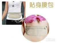 Wholesale Invisible waist bag money bag Good quality Belt Bag Security Wallet Belt bag