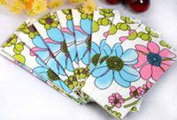 Wholesale Blue And Pink Floral Theme Napkins Tissue Sheets For Wedding Decoration Pary Gifts Favors