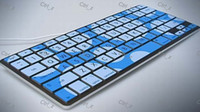 Wholesale Latest Camouflage Soft Silicone Keyboard Cover Skin Protector for Macbook Pro inch