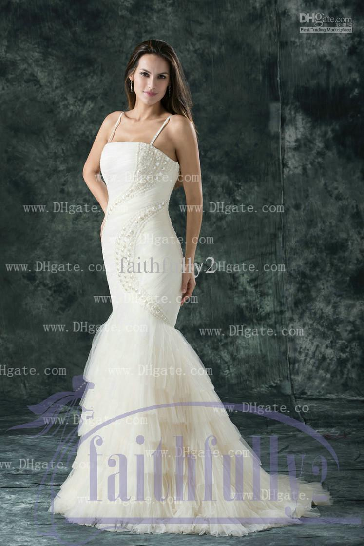 mermaid wedding dresses 2013 with bling wwwpixsharkcom