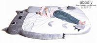 Wholesale Big Huge Cute Totoro Double Bed Sofa Sleeping Bag CM Mattress Large Gift
