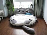 Wholesale My Neighbor Totoro Cute Totoro Double Bed Sofa Sleeping Bag CM Mattress Large Gift
