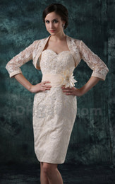 Wholesale 2013 Hot Sale Dhgate Sexy Sweetheart Satin amp Lace With Jacket Mother of the Bride Dresses DH00327