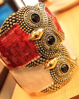 Wholesale hot sale new Alloy Owl Bracelet radiation protection Bazinga style for party