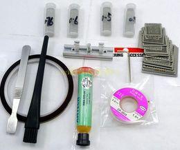 BGA rework station Holder Jig + 140 directly heat stencils Kits