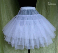 Wholesale 2014 Free hipping Wedding Flower Girl Dress Petticoat Slip Underskirt Crinoline S M L