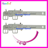 Wholesale PDR06 pd ruler plastic pd vernier caliper pupil ruler lowest shipping costs