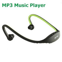 Wholesale Green Sport MP3 Music Player Handsfree Headphone New