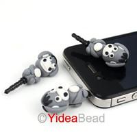 Zhejiang China (Mainland) dustproof plug ear cap free 20pcs Hot Sale Polymer Clay Donkey Shaped Earplugs Flexible Ear Cap Dustproof for Phone 260482