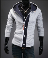Wholesale 2013 Fashion New Men thickening Menswear Cardigan Hooded sweater Mens Hoodie
