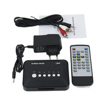 Wholesale GLL190 p HD Media Center RM RMVB AVI MPEG HDD TV Player with USB and SD MMC Port GYYB57