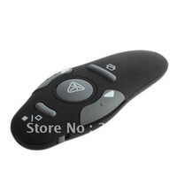 Wholesale RF GHz Wireless USB PPT Remote Control Laser Pointer Pen Presenter