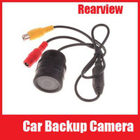 Wholesale 9 LED Car DVR Rearview Camera Wide Angle Car Rear View Reverse Backup CMOS Camera Security cameras