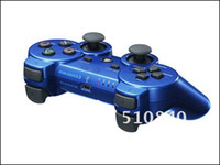 Wholesale Brand New Blue Wireless Bluetooth Game Controller for Sony Playstation PS3