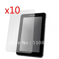 Wholesale 10pcs New Clear Screen Protector Film Guards For Lenovo ideapad Lepad A1