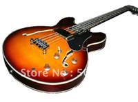 Hollow Guitar jazz bass - new strings Sunburst jazz Semi Hollow music bass electric bass guitar