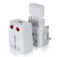 Wholesale World Travel Adapter with USB Charging Port Surge Protection
