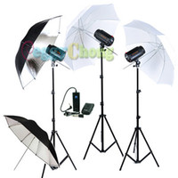 Wholesale Godox WS W Pro Photography Studio Strobe Photo Flash Light Umbrella Kit