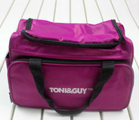 Wholesale TONI GUY purple hairdresser display travel duffle multifunctional luggage diaper shoulder bags