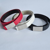 Wholesale OMHA252 strap belt male fashionable casual all match g