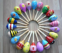 Wholesale Toy Rattle Cute Mini Baby Sand Hammer maracas musical instrument