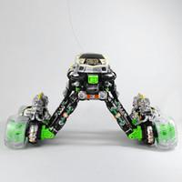 New 01h18 R / C Danse Music Simulation Stunt flip 360 Spin Somersault 4WD Eddy Drift voiture