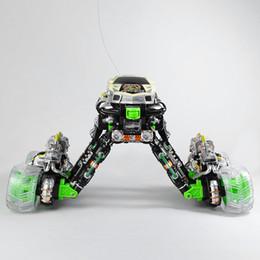 New 01h18 R / C Danse Music Simulation Stunt flip 360 Spin Somersault 4WD Eddy Drift voiture à partir de 4wd nouvelle voiture fabricateur