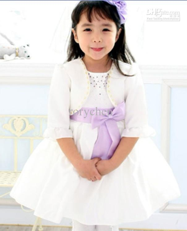 Princess Girl Dress/white Girl