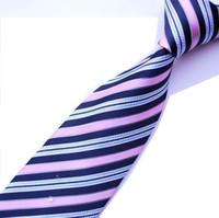 al por mayor corbata corbata-Los hombres de los lazos de los hombres atan la bufanda formal impermeable del negocio del vestido de la corbata del neckcloth mezcló el estilo los 9cm