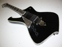Wholesale Christmas promotion new life to come IC300 Left Handed black electric guitars