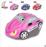 Wholesale Moon children skate helmets skating helmets Cute Child Bike Helmet adjustable size