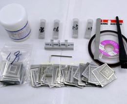 BGA rework station + 160 stencils +100g paste Kits sale