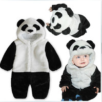 Wholesale NWT Newborn amp Baby s One Piece Panda Romper Sports Series bodysuits