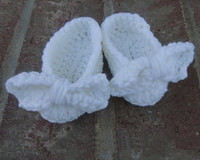 Crochet Shoes ballet flats toddlers - 15 off Baby Ballet Flats with White Bow Ties toddler shoes pairs