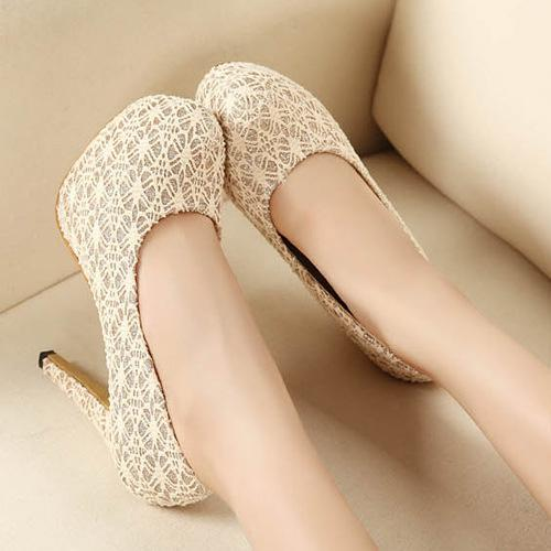 New Women's Flat Shoes, Breathable Soft-bottom Hollow Diamond Soft