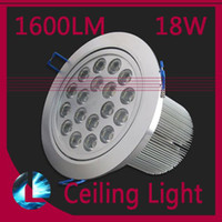 Wholesale Free DHL W LM Led ceiling lamp High energy V Recessed Ceiling Lighting Spot downlamp