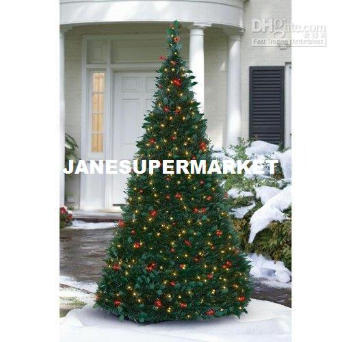 Electric Pre Lit Pull Up Christmas Tree Christmas