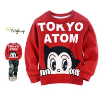 Wholesale boy tokyo atom comfortable sweatshirt for spring and autumn and retail